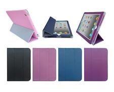 for Apple iPad 3rd / 4th Gen Tablet PU Leather Folio Smart Sleep Wake Cover Case