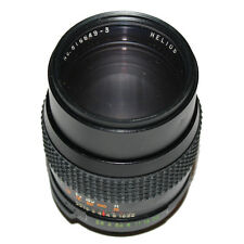 M42 Helios 135mm f2.8 Prime Tele Lens+Caps+UV Filter: OPEN TO OFFERS