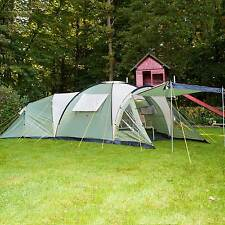 skandika Korsika 8 Person/Man Family Dome Camping Large Group Green New