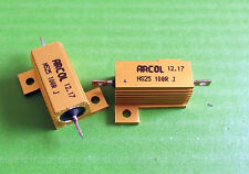 Resistor 100 Ohms 25W Power 100 R 25 Watt HS HSA 5% Aluminium Housed x 1pc ONO