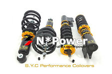 SYC ADJUSTABLE DAMPER COILOVERS F&R SET FOR HOLDEN COMMODORE VZ UTE CREWMAN RWD