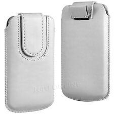 PREMIUM PU LEATHER PULL FLIP TAB CASE COVER POUCH WITH STRAP FOR NOKIA PHONES