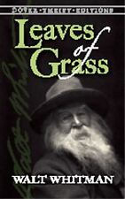 Leaves of Grass: The Original 1855 Edition (Dover Thrift Editions), Walt Whitman