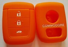 ORANGE SILICONE KEY COVER SUITS HOLDEN REMOTE MALOO SS V8 SV6 VE COMMODORE