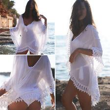 New Women Lady Lace Beach Swimsuit Swimwear Bikini Boho Cover Up Dress