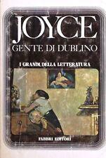 GENTE DI DUBLINO - Joyce [Libro, Fabbri editori]