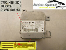 Renault Clio Mk2 - Airbag / Air Bag Control Module / Unit - 0 285 001 157