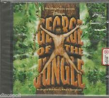GEORGE OF THE JUNGLE - CD OST WALT DISNEY 1997 MADE IN ITALY SEALED SIGILLATO