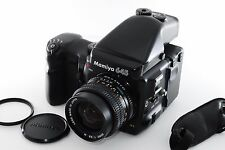 Mamiya 645 Pro Medium Film Camera w/ AE Prism finder + 80mm Grip [EXCELLENT+++]