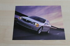 86451) Lincoln LS - USA - Prospekt 1999