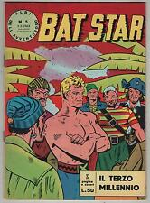 BAT STAR albi dell'avventuroso N.5 IL TERZO MILLENNIO brick bradford spada 1963