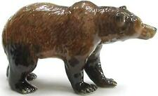 Northern Rose Miniature Porcelain Animal Figure Grizzly Bear Walking R038