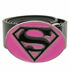 ***NEW*** 'DC' PINK 'SUPERGIRL' BELT. size M - L. HALLOWEEN ACCESSORY?