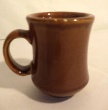 """'LOT' of 15 NEW Brown Crestware Restaurant Coffee Mugs, 4"""" High 2.75"""" Wide"""