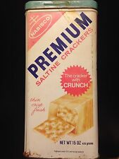 Very ! Rare ! Vintage 1969 *15 Oz* Nabisco Premium Saltine Crackers Tin