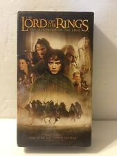 The Lord of the Rings: The Fellowship of the Ring (VHS, 2002) BRAND NEW SEALED