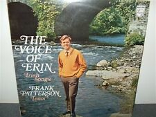 Frank Patterson . The Voice Of Erin . Irish Songs . LP