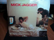 "Mick Jagger ""Just Another Night"" Terrific Oz PS 7"""
