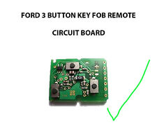 FORD GALAXY MONDEO TRANSIT CONNECT KA PUMA TRANSIT REMOTE KEY FOB CIRCUIT BOARD