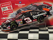 2001 Action 1/24 Dale Earnhardt #3 GM Goodwrench No Bull 76th Victory Race Win