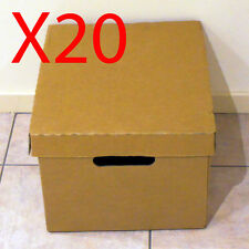 X20 XL Cardboard archive container storage moving packing packaging post boxes