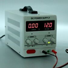 Variable Linear Adjustable Lab DC Bench Power Supply 0-30V 0-5A  by YaeTek