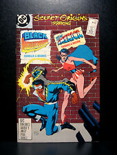COMICS: DC: Secret Origins #26 (1980s), Black Lightning/Miss America - RARE