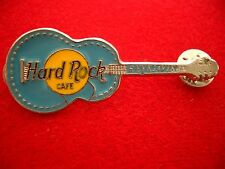 HRC Hard Rock Cafe Reykjavik Acoustic Guitar Light Blue Made by Thorcraft