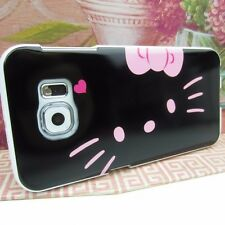Hello Kitty #BP Impact Silicone Rubber Skin Cover Case for Samsung Galaxy S6