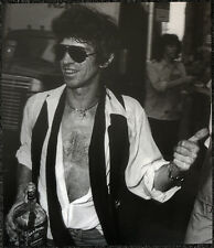 THE ROLLING STONES POSTER PAGE 1980 KEITH RICHARDS . Y67