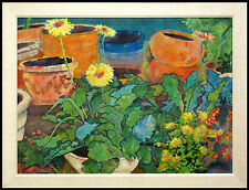 "Sara Eyestone ""Arizona"" Original Batik Painting, Southwestern Art, MAKE OFFER"