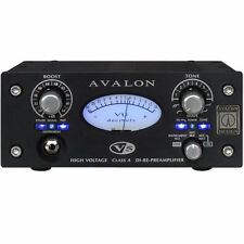 Avalon Design V5 Black Class-A RE-DI-Preamplifier Mic Preamp DEMO UNIT