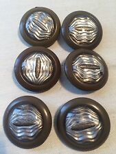 Art Nouveau Art Deco 10 Glass And Bakalite Buttons