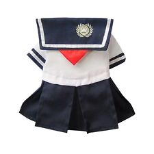 DOG DRESS BLUE SAILOR PUPPY TEACUP TINY small 22CM CHIHUAHUA YORKIE CLOTHES XS