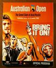 2006 AUSTRALIAN OPEN TENNIS PROGRAM