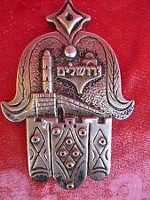 schönes Silberobjekt__Hand Hamsa__Israel__925 Silber___ !