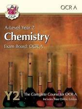 New A-Level Chemistry for OCR A: Year 2 Student Book with Online Edition (NEW)
