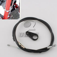 """57"""" Motorcycle Brake Clutch Cable Frame Clamp kit For Harley Sportster 1200 883"""