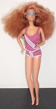 VINTAGE MATTEL 1985 babbie BAMBOLA RAME graffe CAPELLI Cami Top / pants1966 Filippine