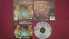 SORCERER'S MAZE ORIGINAL BLACK LABEL  SONY PLAYSTATION 1  PS1 PS2