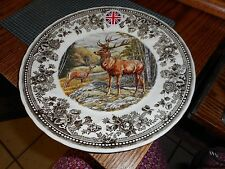 NEW QUEEN'S Quintessential Game STAG DINNER PLATE  Made in England DEER Buck