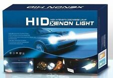 HID Xenon Kit For All Cars High / Low Beam, H4 8000K Bulbs With Slim Ballast