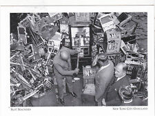 "*POSTCARD-""Slot Machines""  -Seized Gambling Devices-New York City Gangland (#67)"