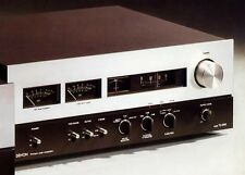 DENON tu-850 FM STEREO TUNER, VHF, Flagship, Drum scale, Legend, wood case