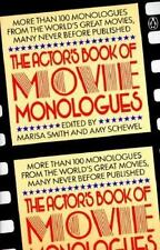 The Actor's Book of Movie Monologues: More Than 100 Monologues from the World's