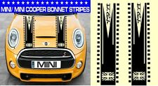 MINI/MINI ONE/MINI COOPER strisce da Cofano Auto Grafica in Vinile/Decalcomanie Adesivi