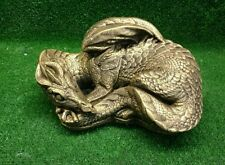 sleeping  dragon mold for plaster or concrete LATEX ONLY