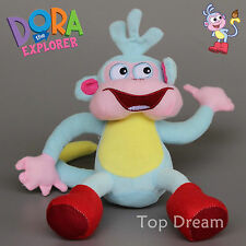 New Cartoon Dora the Explorer Boots The Monkey Soft Plush Doll Toy 10'' Ted Gift
