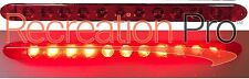 "16"" RED LED LOW PROFILE SURFACE MOUNT STOP TURN TAIL LIGHTS TRAILER TRUCK"