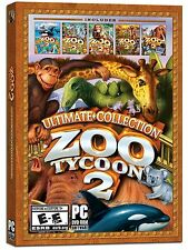 Zoo Tycoon 2: Ultimate Collection (PC DVD) Brand New  - Factory Sealed Item